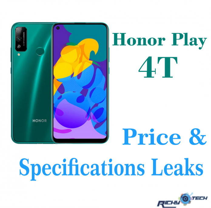 Honor Play 4T Smartphone Specifications