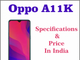 oppo a11k launch date in india