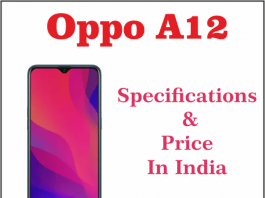 oppo a12 launch date in india